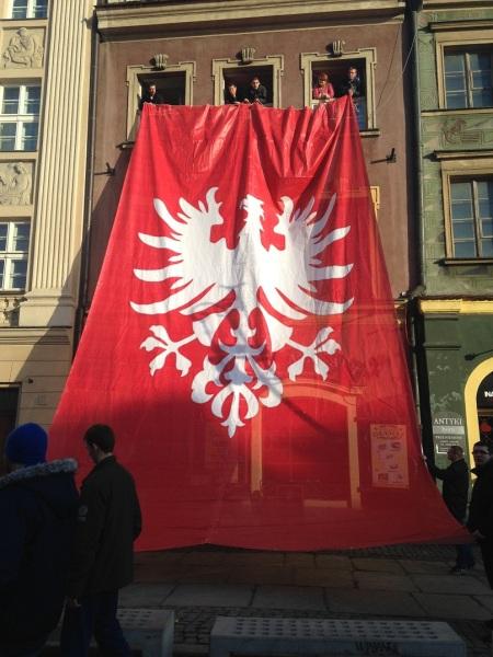 Flaga powstańcza